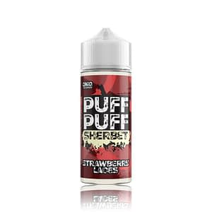 Puff Puff Strawberry Laces E Liquid