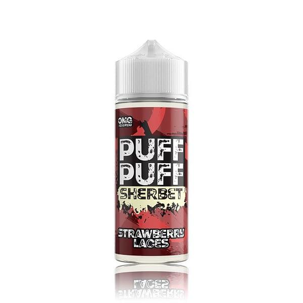 Puff Puff Strawberry Laces E Liquid