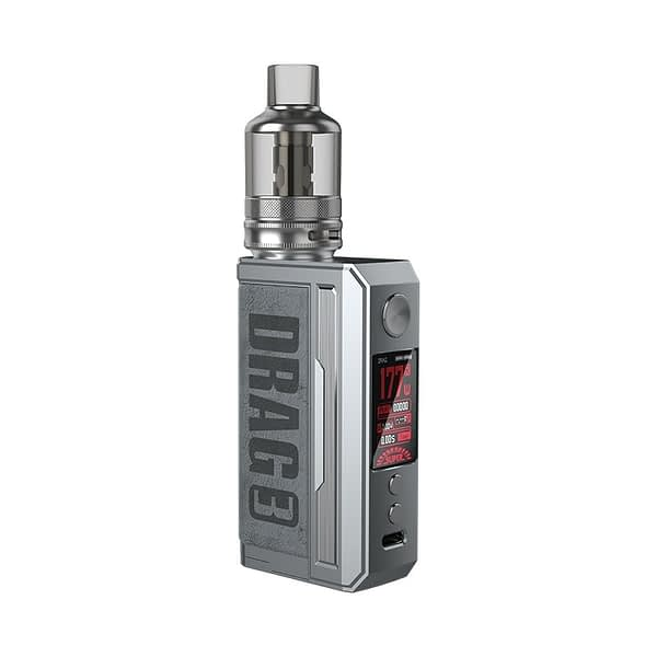 Voopoo Drag 3 Vape Kit Smokey Grey