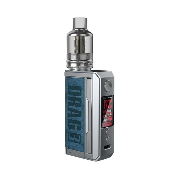 Voopoo Drag 3 Vape Kit Prussian Blue