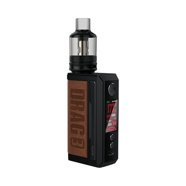 Voopoo Drag 3 Vape Kit Sandy Brown