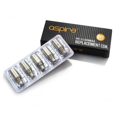 Aspire BVC Coils 5 Pack